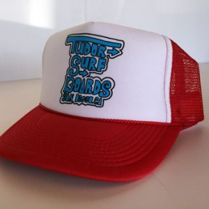 tudor-red-trucker-drawn